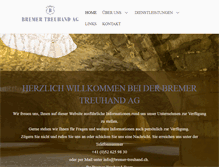 Tablet Preview of bremer-treuhand.ch